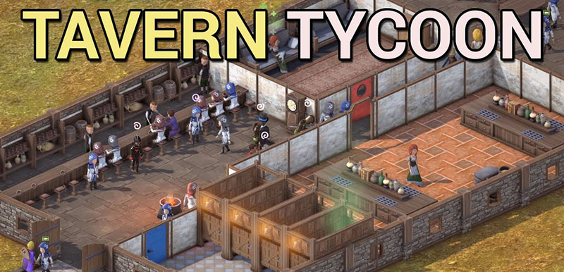 Tavern Tycoon - Dragon's Hangover Build DB70 - полная версия