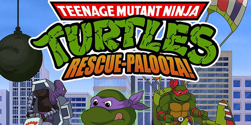 Teenage Mutant Ninja Turtles: Rescue-Palooza! v1.1.1 - торрент