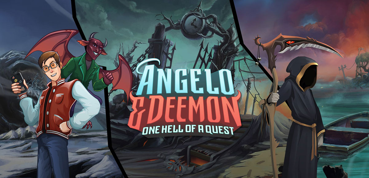 Angelo and Deemon: One Hell of a Quest - полная версия на русском
