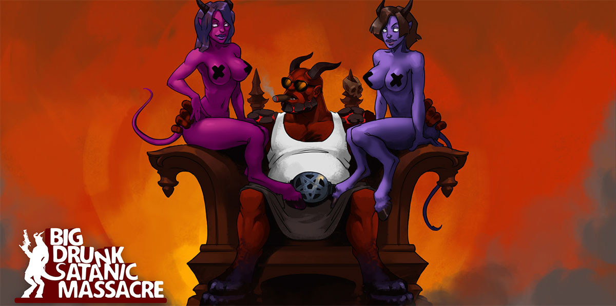 BDSM: Big Drunk Satanic Massacre v1.0.23 - торрент