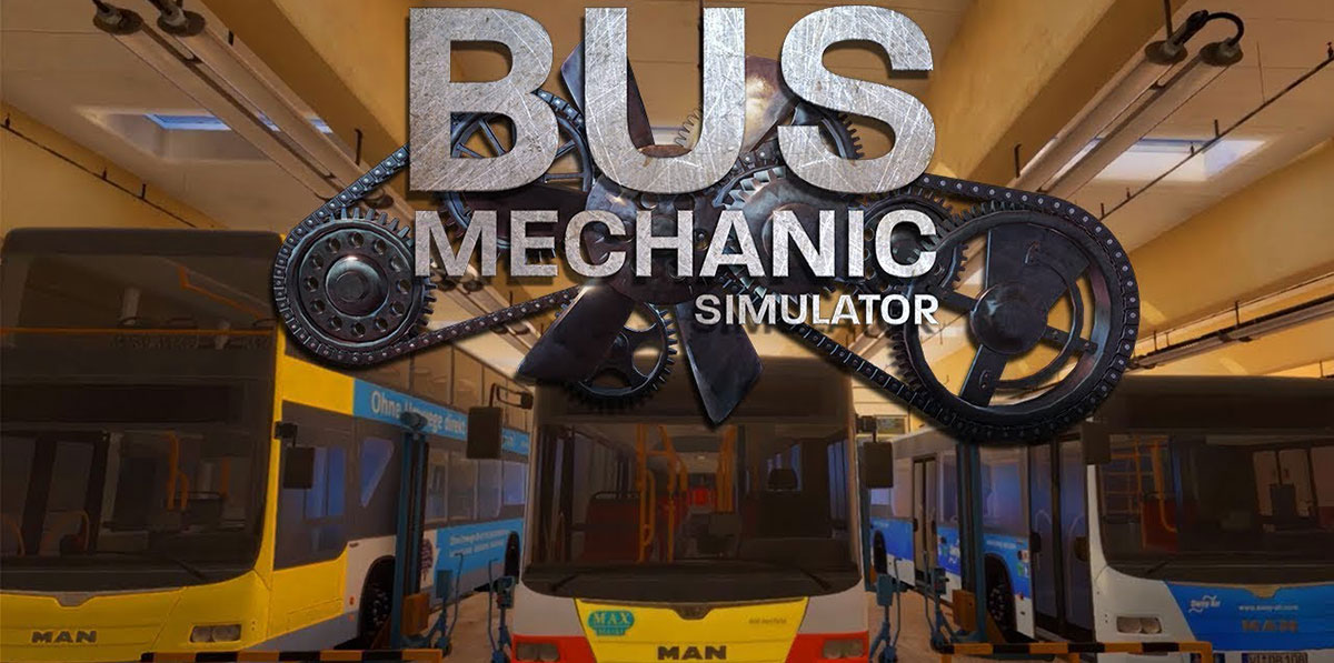 Bus Mechanic Simulator - торрент